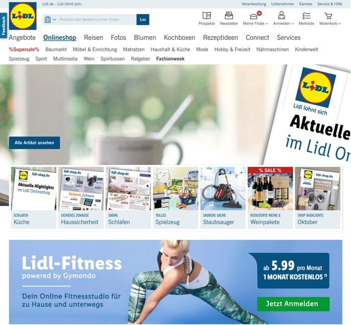Lidl Gutschein Juli 2018   Gültigen 20€ + 5€ Rabatt sichern