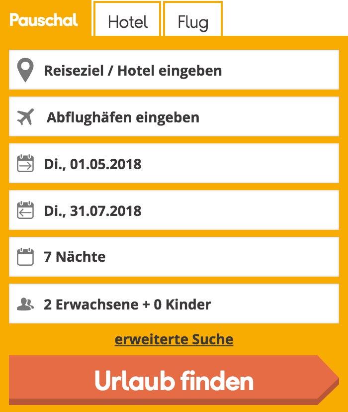 neckermann reisen deutschland eigene anreise