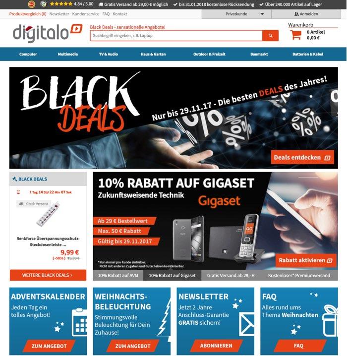 Digitalo Gutscheine Februar 2020   80% + 60% Rabatt einlösen