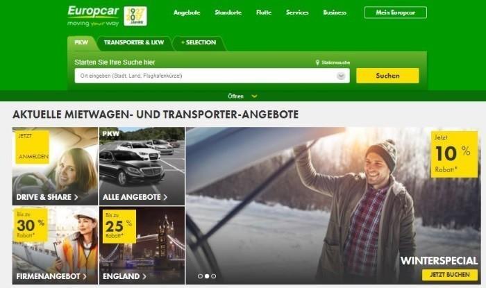 Europcar Gutscheine Juli 2019 Aktuellen 15 10 Rabatt Sichern