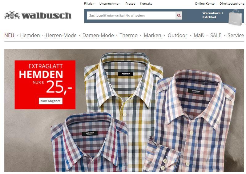 elegant im Stil Sortenstile von 2019 wähle authentisch Walbusch Gutscheine Nov. 2019 | 50% + 25€ Rabatt einlösen