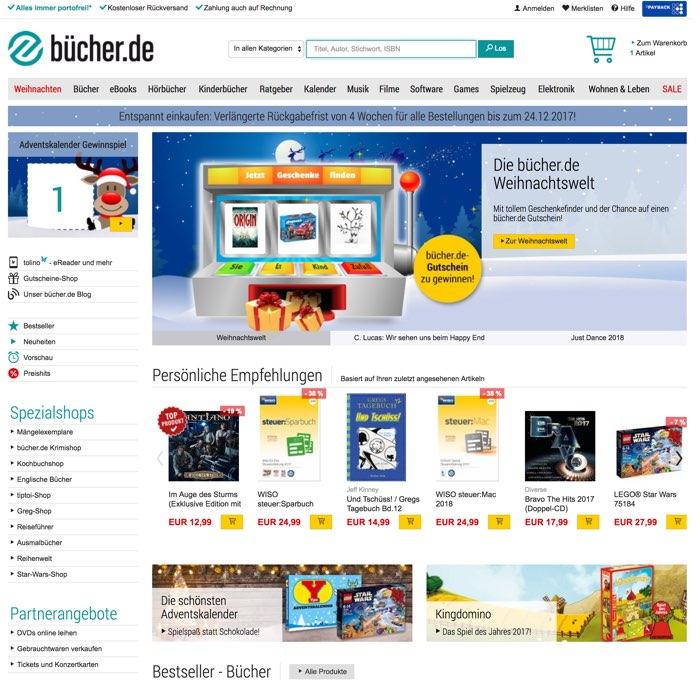 bücher.de Gutschein Sep. 2019 | Jetzt 13% + 10% Code einlösen