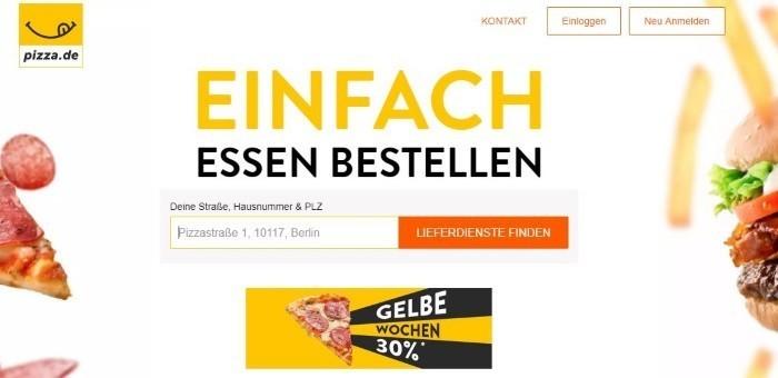 GUTSCHEIN PIZZA.DE SEPTEMBER