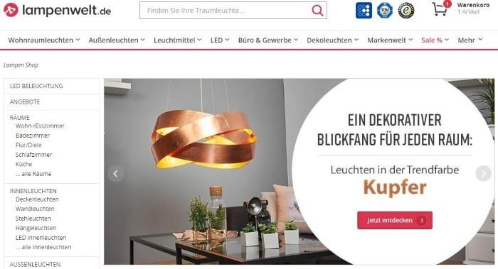 Lampenwelt Gutschein Marz 2019 10 20 Code Sichern