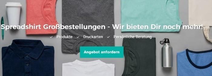Spreadshirt Gutscheine Oktober 2020 | 5€ + 70% Code