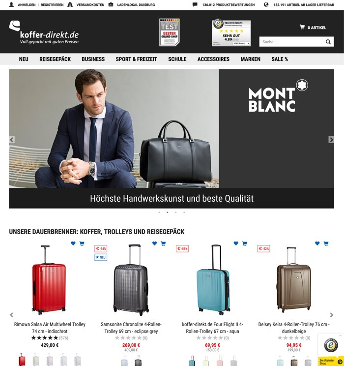 Koffer Direkt Gutschein Juli 2019 10 70 Rabatt Nutzen