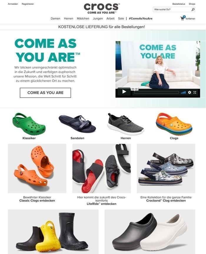 4b18ac51fa7 Hier profitieren Sie von der weltweit größten Auswahl an Schuhen von Crocs  und werden demnach mit hoher Wahrscheinlichkeit fündig, wenn Sie mit der  Qualität ...
