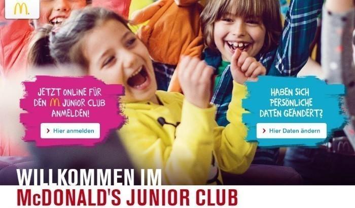 Mc Donalds Junior Club
