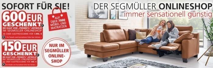 Segmüller Gutscheine Juli 2019 250 189 Rabatt Nutzen