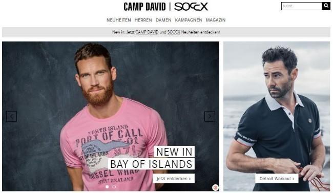 Release-Info zu weltweite Auswahl an Luxus-Ästhetik Camp David Gutschein Nov. 2019 | 5€ + 50% Rabatt einlösen