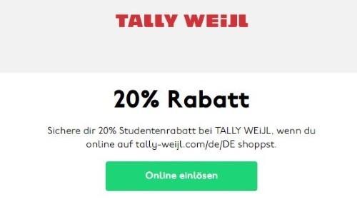 Tally Weijl Gutschein März 2019 10 50 Rabatt
