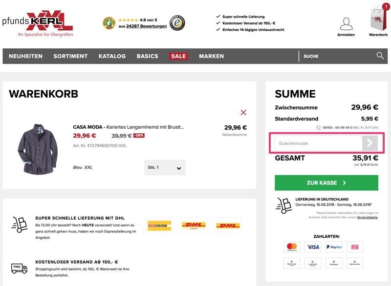 Pfundskerl Gutscheine Juni 2019 5 50 Rabatt Einlösen
