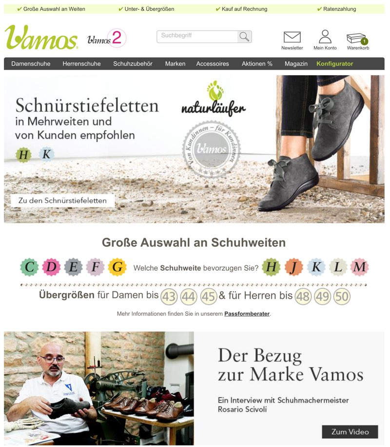 75f8ad513b5a So finden Sie nicht nur Gesundheitsschuhe sowie die beliebten  Comfort-Schuhe bei Vamos in dem Angebot, sondern ebenfalls Pflegeprodukte,  die für gesunde ...
