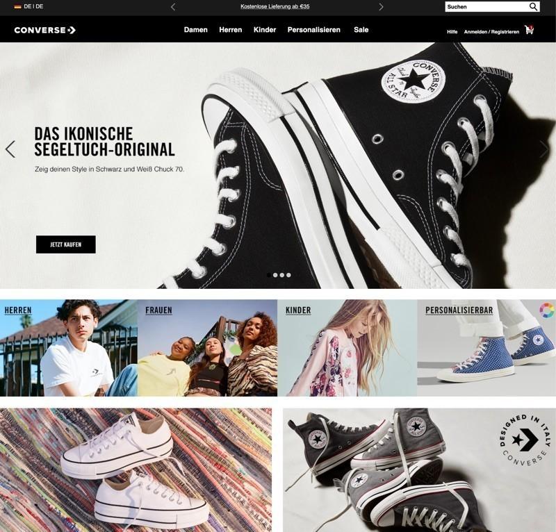 c31faebc054e18 Nehmen Sie sich also gleich einen Augenblick Zeit und greifen Sie direkt  auf die komplette Kollektion der Converse Sneakers und Bekleidung zu. Von  dem All ...