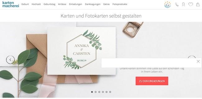 kartenmacherei Gutschein | Jetzt Rabatt für August 2019 nutzen