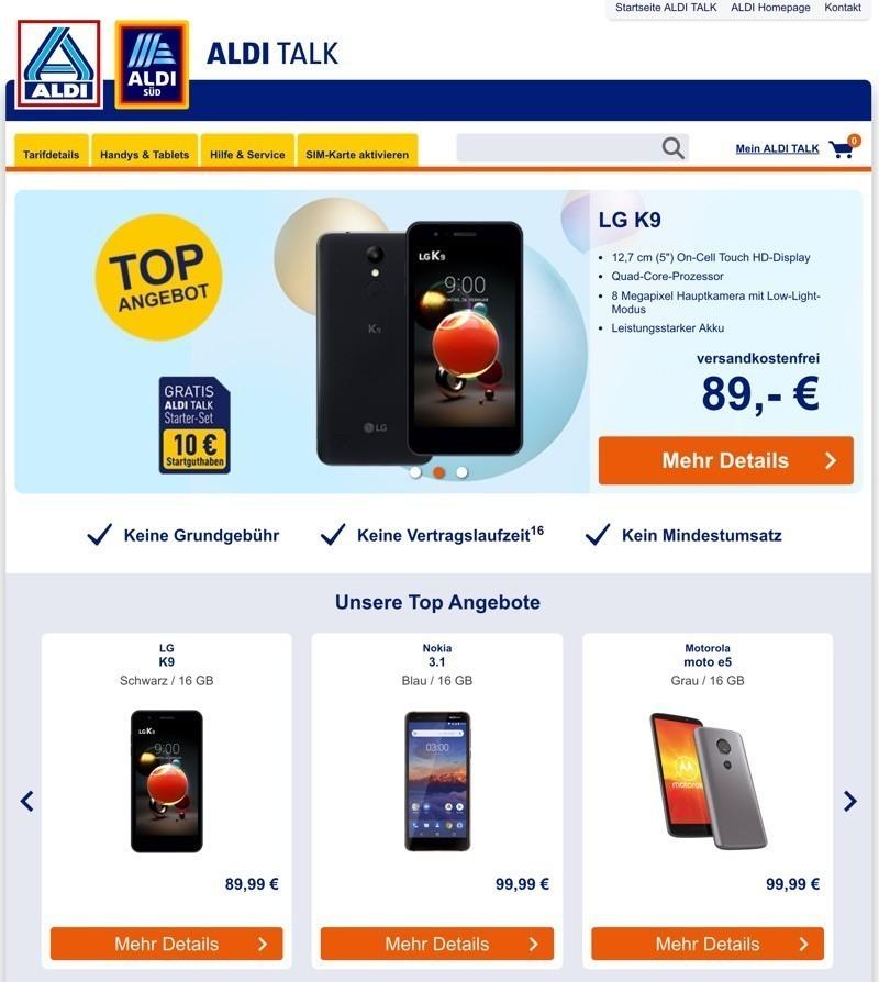 Aldi Talk Sim Karte Kaufen.Aldi Talk Gutschein August 2019 25 14 99 Rabatt Nutzen