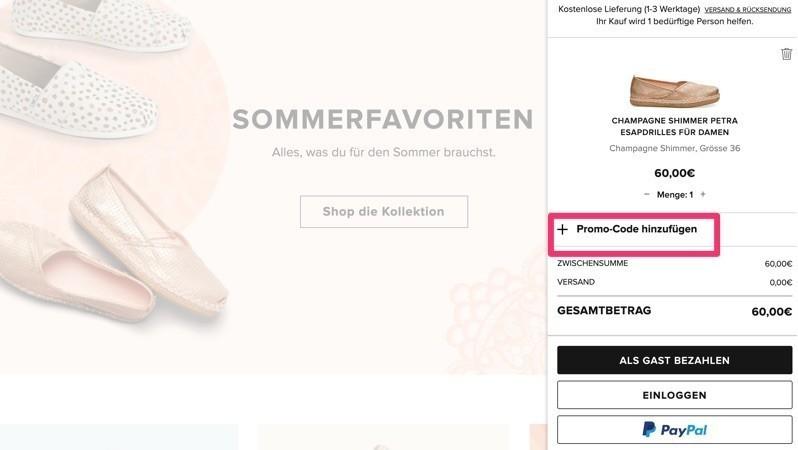 reputable site 4b24f 79b0f TOMS Gutschein | Gültigen 15% Rabatt für Oktober 2019 sichern