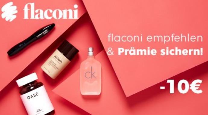 Flaconi Freunde werben
